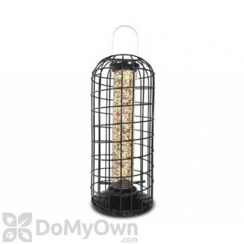PineBush Peanut Bird Feeder with Squirrel Blocking Cage (10738)