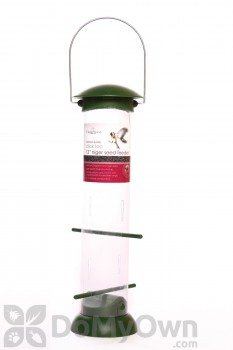 PineBush Click Top Nyjer Seed Bird Feeder 12 in. (30417)