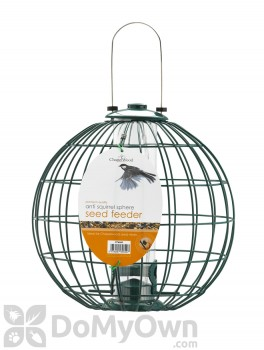 PineBush Anti - Squirrel Sphere Seed Bird Feeder 6 lb. (PINE30849)