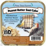 Pine Tree Farms Peanut Butter Suet Cake Bird Food 12 oz. (1110)
