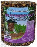 Pine Tree Farms Fruit Berry Nut Seed Log Bird Food 72 oz. (8006)