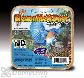 Pine Tree Farms Never Melt Suet Insect Cake Bird Food 12 oz. (3015)