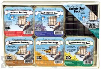 Pine Tree Farms Variety Suet Cake Bird Food Pack (1204)