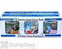 Pine Tree Farms Variety Suet Cake Bird Food Pack (VP6200)