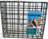Pine Tree Farms Large Suet and Seed Cake Hanging Wire Bird Feeder (1451)