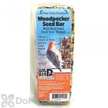 Pine Tree Farms Woodpecker Bar Bird Food 14 oz. (1580A)