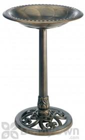Rainbow Gardman Antique Bronze Pedestal Bird Bath (01281)