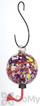 Rainbow Gardman Sphere with Multi Color Design Hummingbird Feeder (05712)