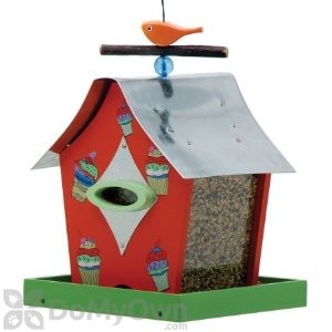 Rossos International Retro Chic Cupcakes Bird Feeder (WF33)