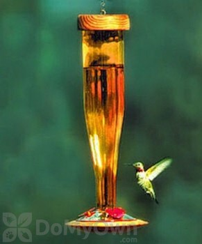 Schrodt Gold Hummingbird Feeder 12 in. (HBLG)