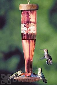 Schrodt Ruby Paradise Lantern Hummingbird Feeder 12 in. (HBLRP)