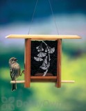Schrodt Gingko Leaves Teahouse Bird Feeder 7 in. (PBBSTH7G)