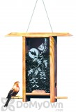 Schrodt Vine Maple Teahouse Bird Feeder 12 in. (TH12VM)