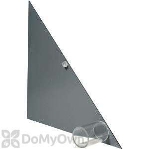 Bird Barrier BirdSlide Large End Cap Gray Left and Right (5 pairs) (sl-g15)