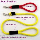 Soft Lines Dog Snap Leash - 1 / 2
