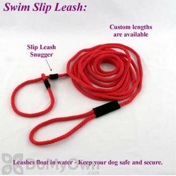 Soft Lines Floating Dog Swim Slip Leashes - 1 / 2\'\' Diameter x 50 Foot