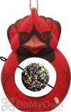 Songbird Essentials Cardinal Fruit or Birdseed Ball Bird Feeder (SE3870225)