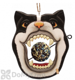 Songbird Essentials Black & White Cat Face Fruit or Birdseed Ball Bird Feeder (SE3870227)