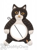Songbird Essentials Black and White Cat Fruit or Birdseed Ball Bird Feeder (SE3870228)