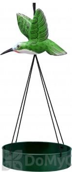 Songbird Essentials Hummingbird Suspended Metal Tray Bird Feeder (SE3870405)