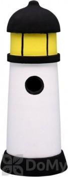 Songbird Essentials Black & White Lighthouse Bird House (SE3880073)