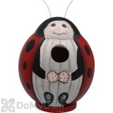 Songbird Essentials Ladybug Gord O Bird House (SE3880081)