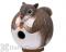 Songbird Essentials Squirrel Gord - O  Bird House (SE3880086)