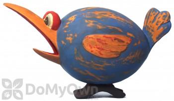 Songbird Essentials Blue & Orange Loony Bird Bird House (SE3880170)
