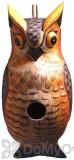 Songbird Essentials Great Horned Owl Bird House (SE3880301)