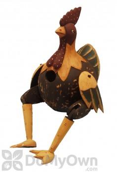 Songbird Essentials Hinged Antiqued Fat Chicken Bird House (SE3880315)