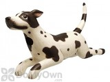 Songbird Essentials Leaping Black and White Spotted Dog Bird House (SE3880402)