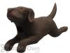 Songbird Essentials Black Leaping Labrador Bird House (SE3880404)