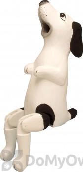 Songbird Essentials Hinged Black and White Dog Bird House (SE3880406)