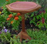 Songbird Essentials Classic 17 Bird Bath with Post (SE506)
