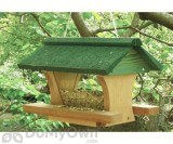 Songbird Essentials Pivot Roof Bird Feeder 12 in. (SE553)