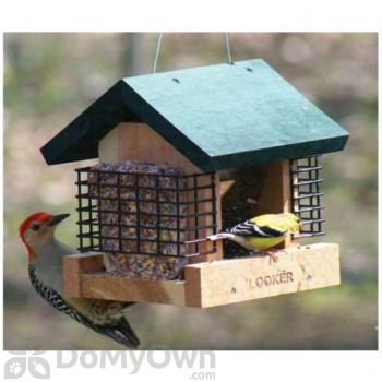 Songbird Essentials 2 Suet and A Seed Bird Feeder (SE565)