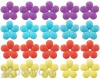 Songbird Essentials Mixed Colors Replacement Flowers For Hummingbird Feeders (20 pack) (SE6009)