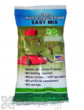 Songbird Essentials Easy Mix Clear Hummingbird Food 8 oz. (SE628)