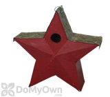 Songbird Essentials Red Country Star Bird House (SE915)