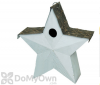 Songbird Essentials White Country Star Bird House (SE916)
