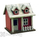 Songbird Essentials Picket Fence Cottage Bird House (SE921)