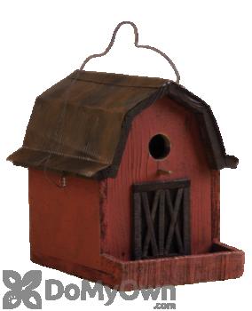 Songbird Essentials Little Red Barn Bird House (SE925)
