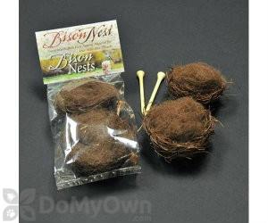 Songbird Essentials Bison Nest 2 Mini Nests (SEBISON207)