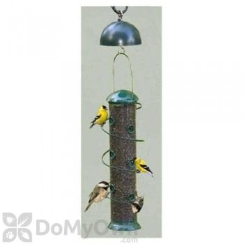 Songbird Essentials Super Spiral Sunflower Bird Feeder w/ Twirl-A-Squirrel Combo