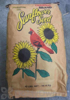 Songbird Essentials Sunflower Bird Seed 40 lb. (SEEDBO40)