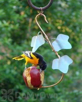 Songbird Essentials Copper Ivy Fruit Cafe Bird Feeder (SEHHFRCF)