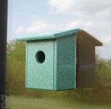 Songbird Essentials Recycled Plastic Window Nest View Bird House (SERUB78162)