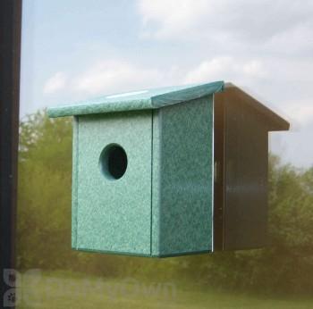 Songbird Essentials Recycled Plastic Window Nest View Bird House (SERUB78162)