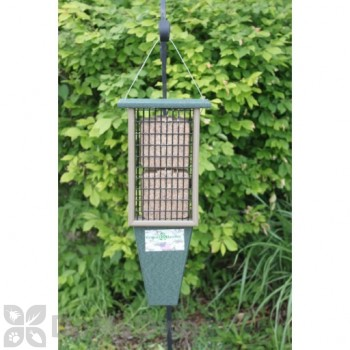 Songbird Essentials Hunter Green and Driftwood Double Suet Bird Feeder (SERUBDSF200HD)