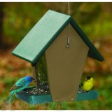 Songbird Essentials Recycled Plastic Small Hopper Bird Feeder 1.5 qt. (SERUBHF55)